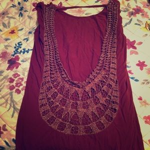 BKE cut out back top